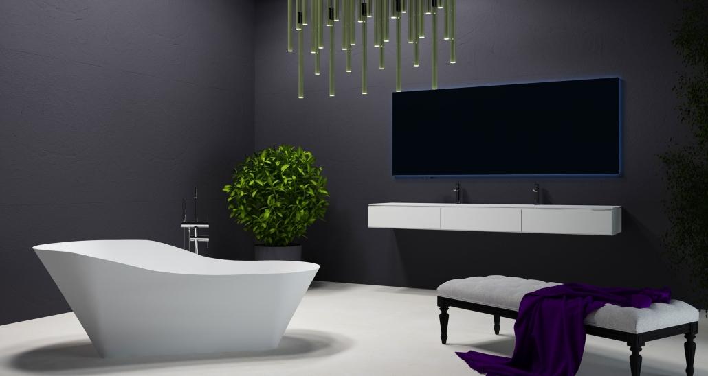 brīvi stāvoša vanna Adeona, freestanding bath Adeona