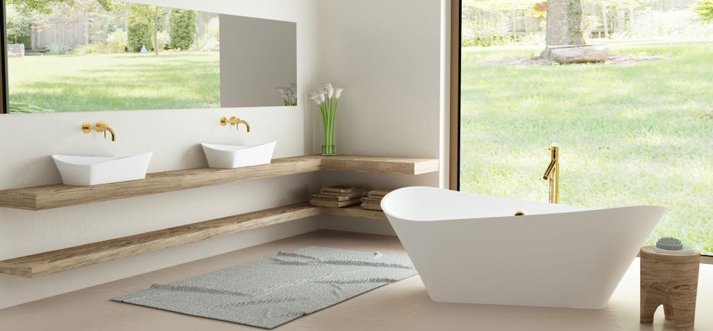 Brīvi stāvošas vannas - vanna Kleodora