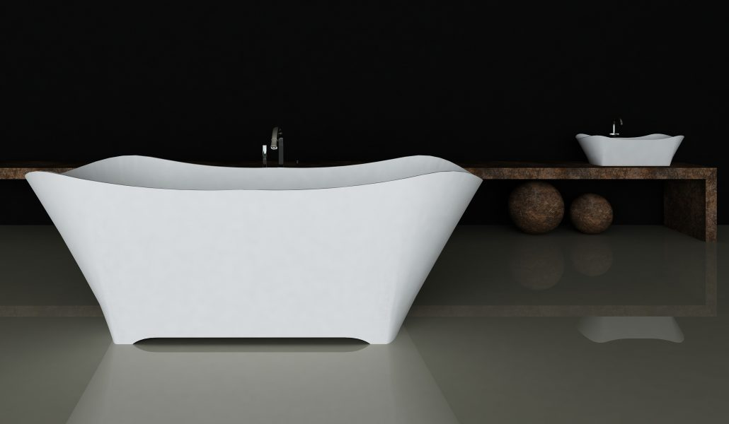 Freestanding bathtub Lante