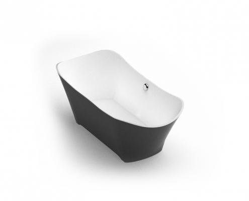 Brīvi stāvoša vanna Lante