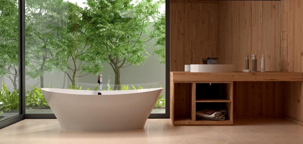 laisvai pastatoma vonia: Vonia Demetra