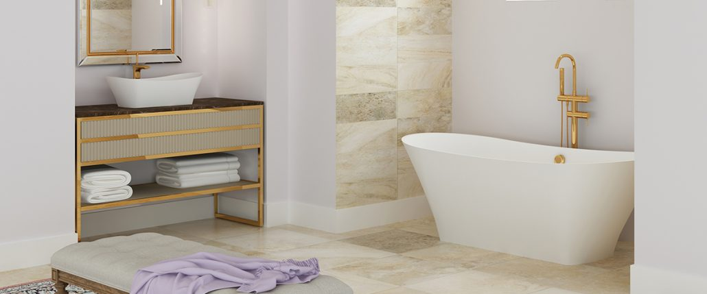 Freestanding bathtub Belisana