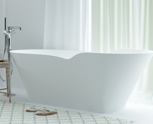 brīvi stāvoša vanna Tacita