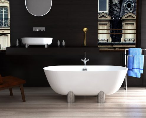 Freestanding Bath Damona 3