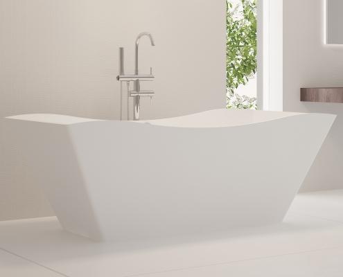 Freestanding bath Eudore