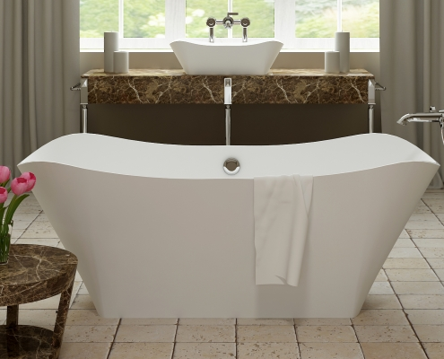 Freestanding bath Lante