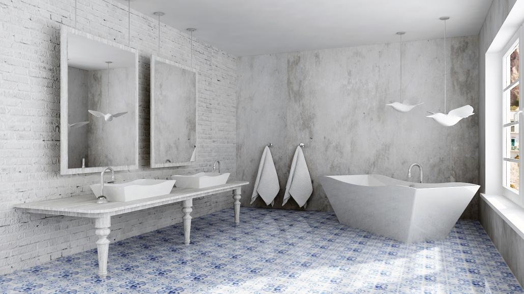 Brīvi stāvoša vanna Eudore