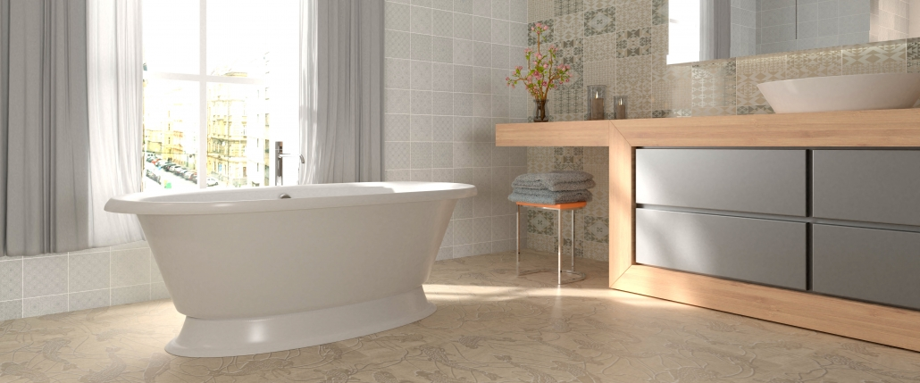 Freestanding bath Micanto