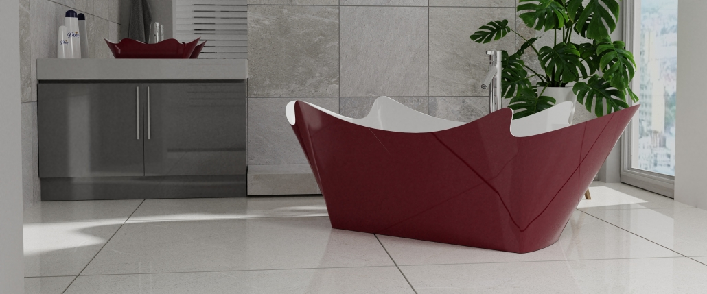 Design: Freestanding Bathtub ERACURA Individual design