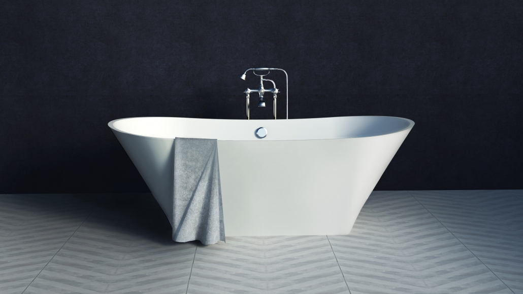 Design: Freestanding bath BELISANA
