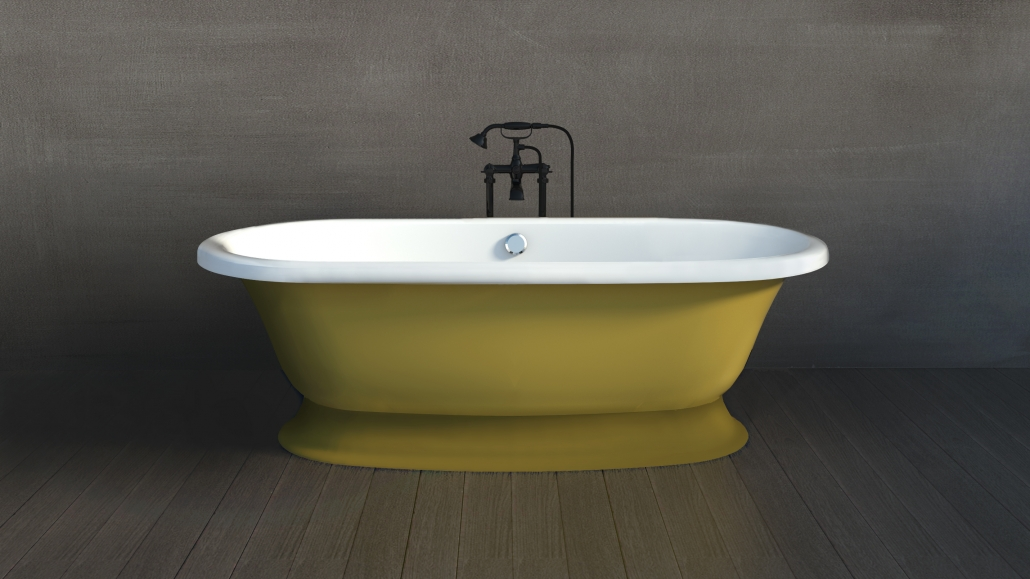Freestanding bathtub RECANTO Individual design
