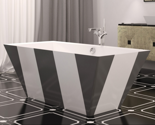Freestanding bath Erunna