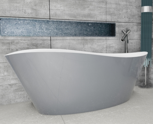 Freestanding bath Luxovio