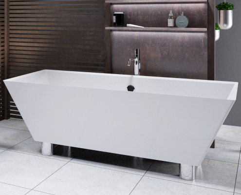 Brīvi stāvoša vanna Doride