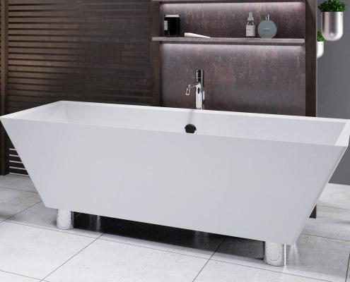 Freestanding bath Doride