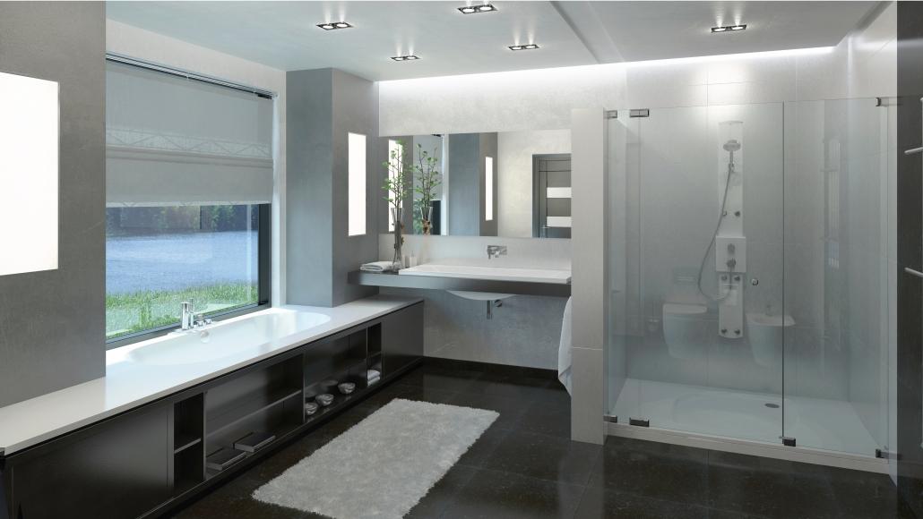Cast stone bathtub Dafne individual