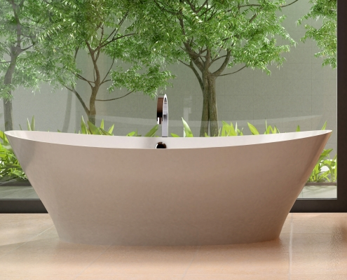 Freestanding bath Demetra