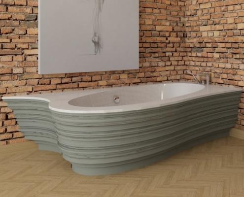 individual bathtub Estia