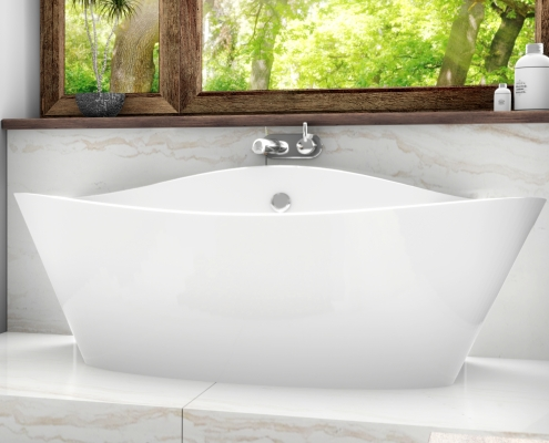 Freestanding bath Iris