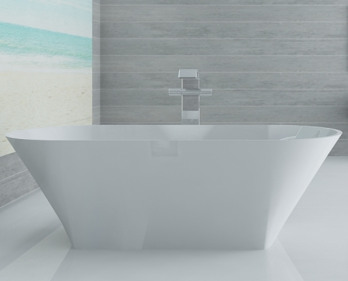 Freestanding bath Ornea