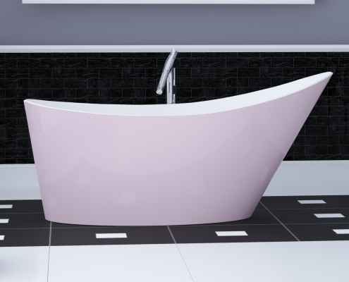 Freestanding bath Proteus
