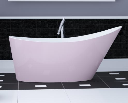 Freestanding bath Proteus