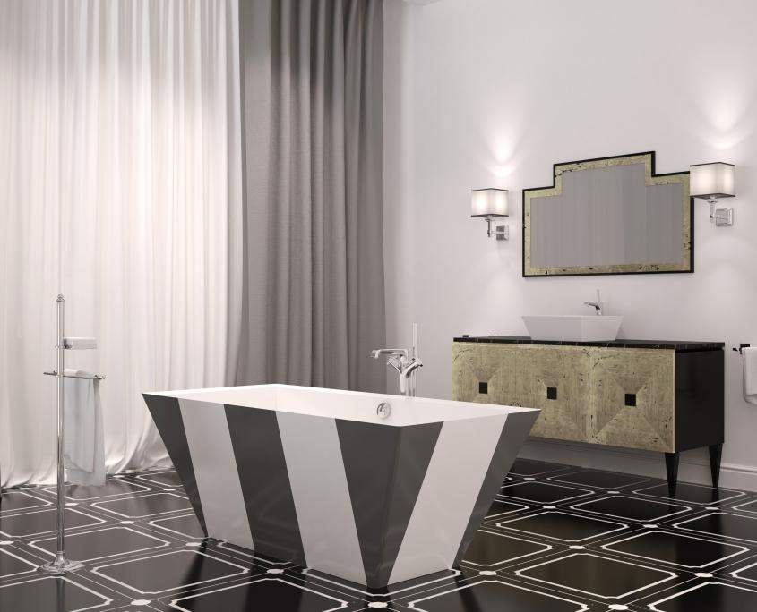 Freestanding bathtub Erunna Individual design