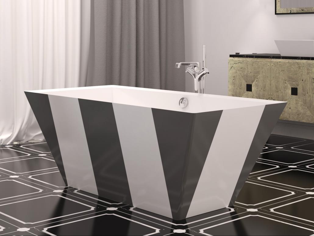 Brīvi stāvošas vannas : vanna Erunna Individuāls dizains