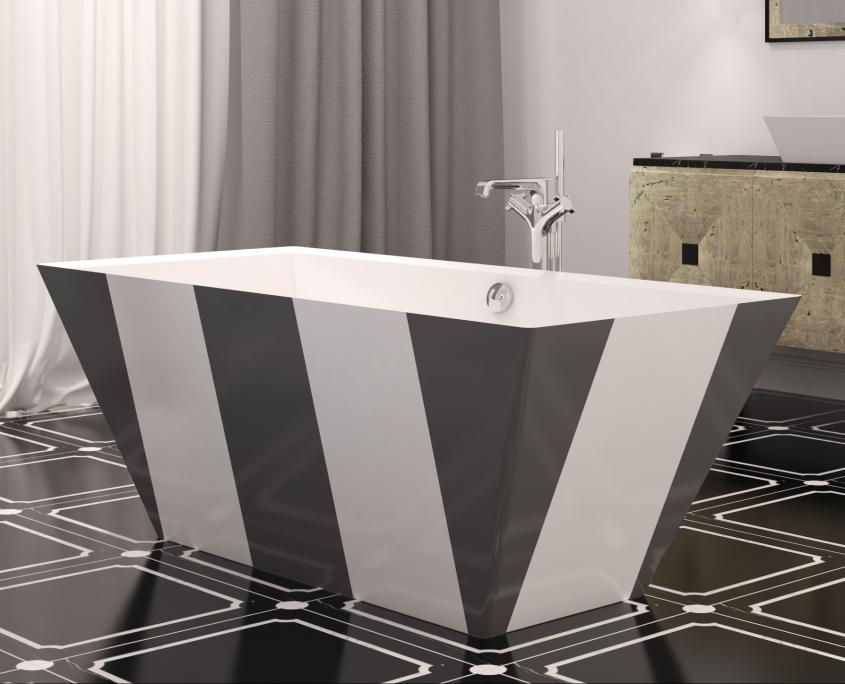 Brīvi stāvošas vannas : vanna Erunna Individual dizains