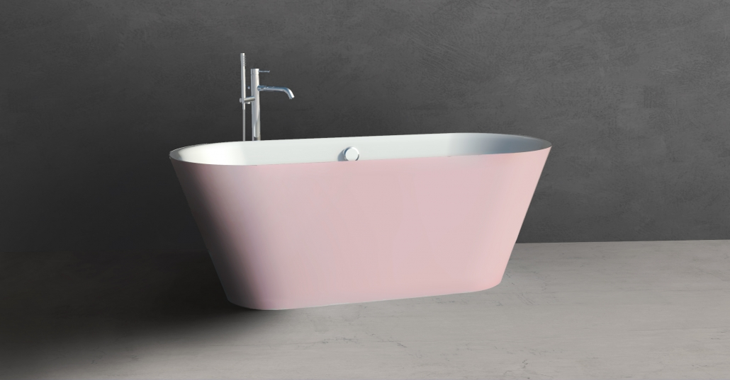 Design: Freestanding bath SELENE