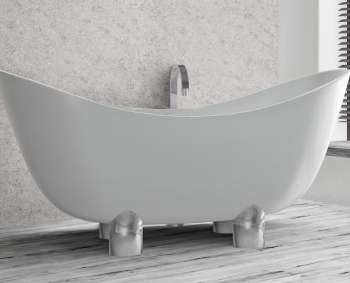 Brīvi stāvoša vanna Damona 1
