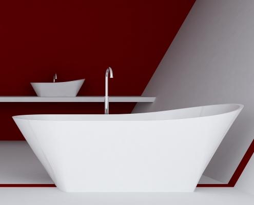 Vannas : Brīvi stāvoša vanna Calipso