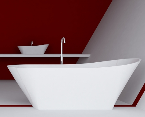 Freestanding bath Calipso