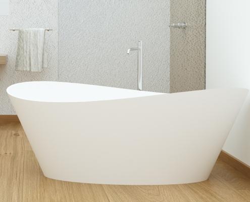 Brīvi stāvoša vanna Iside
