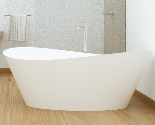 Freestanding bath Iside