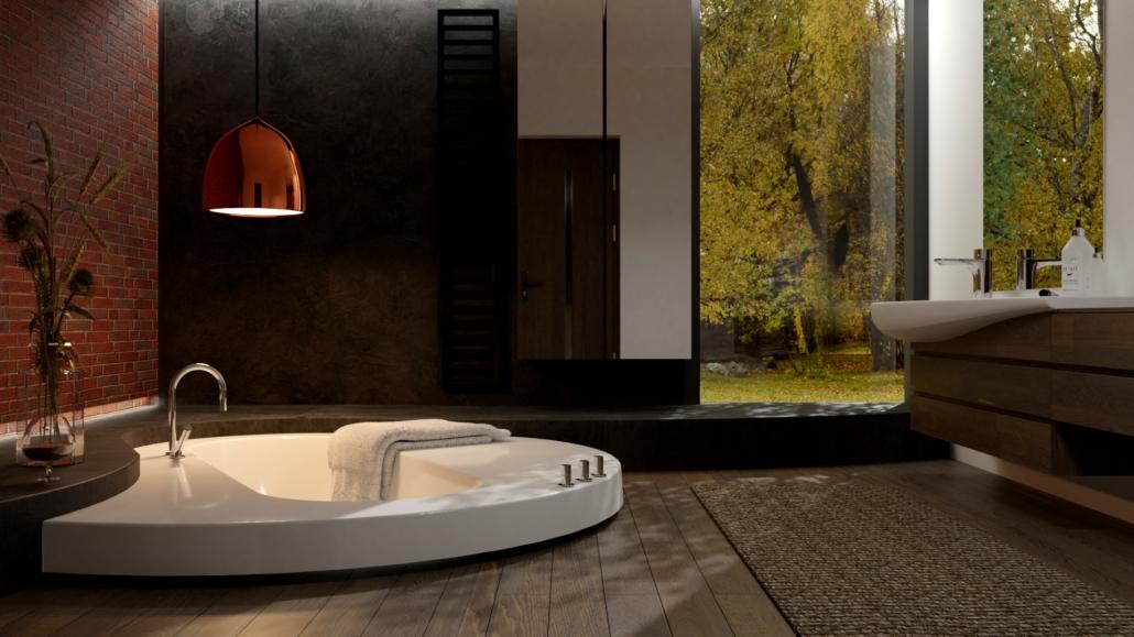 Individual Bathtub Dafne 3