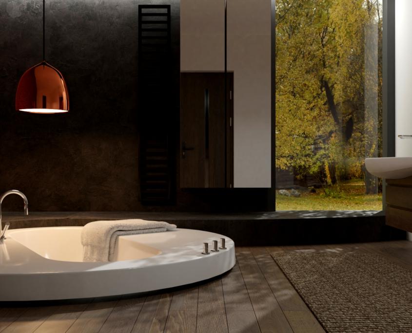 Индивидуальные ванны Individual Bathtub Dafne 3