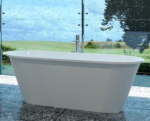 Laisvai pastatomos vonios: vonia Dafne