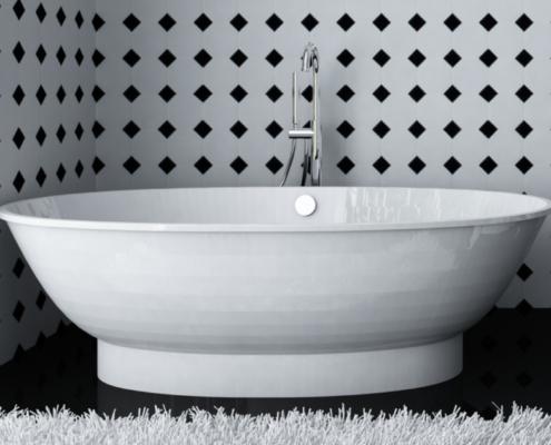 Brīvi stāvoša vanna Estia
