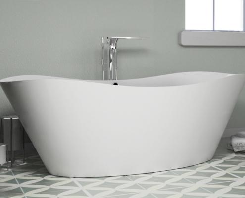 Laisvai pastatomos vonios: vonia Alfeo