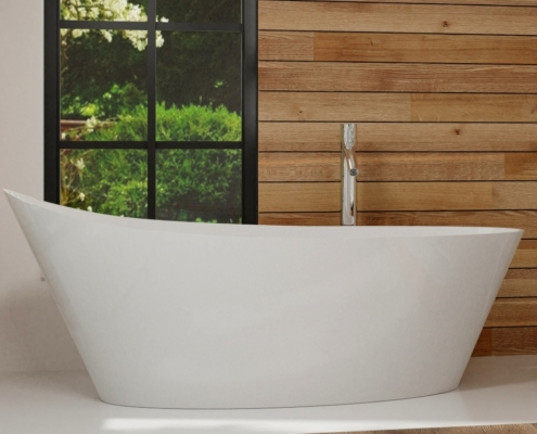 Laisvai pastatomos vonios: vonia Cleone