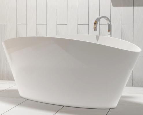 Laisvai pastatomos vonios: vonia Dione