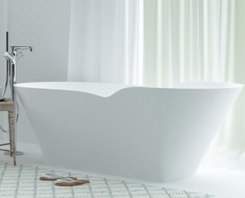 Laisvai pastatomos vonios: vonia Tacita