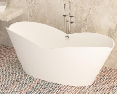 Отдельностоящая ванна Cupido
