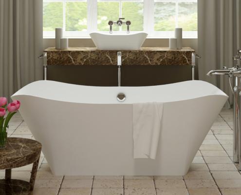 Отдельностоящая ванна Lante